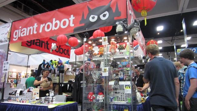 GR San Diego Comic-Con (screen shot)